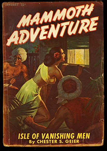 MAMMOTH ADVENTURE 1947 JAN-NATIVE GIRL COVER G