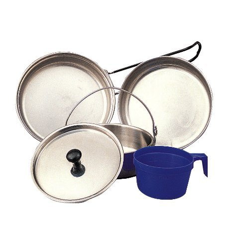 (Rothco 5 Piece Stainless Steel Mess Kit)