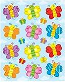 Carson Dellosa Butterflies Shape Stickers (168032)