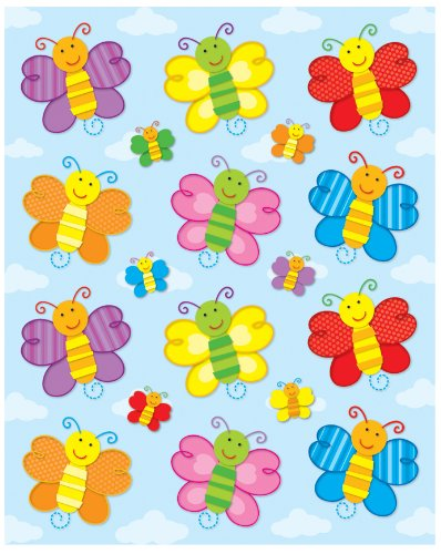Other Kids Arts Amp Crafts Carson Dellosa Butterflies