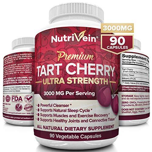 Nutrivein Tart Cherry Capsules