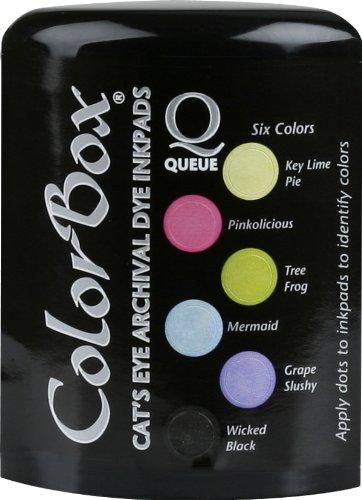 (ColorBox Archival Dye Queue Ink Pad, Tutti Frutti)