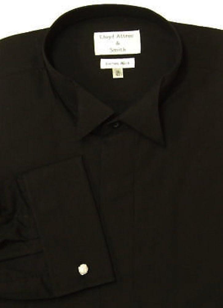 Deluxe Black Wing cuello vestido de esmoquin Camisa (17 ...
