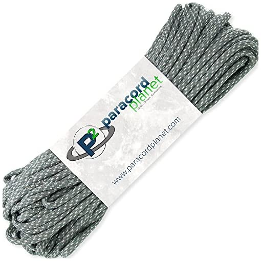 PARACORD PLANET 550 Nylon Paracord 7 Strand Type III Utility Cord Largest Selection Available!