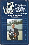 Once a Giant Always, Andy Robustelli and Jack Clary, 0933341261