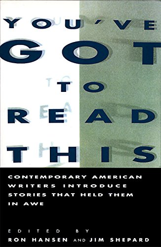 You've Got to Read This: Contemporary American Writers...