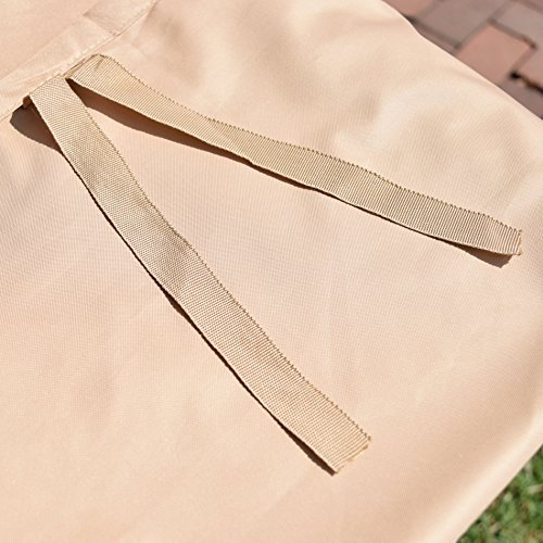 Rust-Oleum NeverWet Patio Chair Cover, Medium (Tan) by EmpireCovers (Image #3)