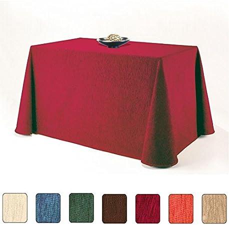 Falda de Mesa Camilla Rectangular Modelo SANTA FE, Color Beige ...