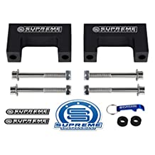 "Supreme Suspensions - 2"" Front or Rear Shock Extenders for 1983 - 2005 GMC Sonoma S-15 (2wd + 4wd)"