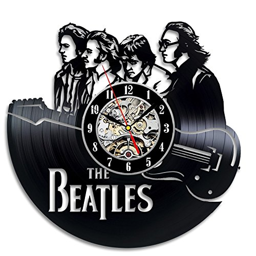 The Beatles Art Vinyl Wall Clock Gift Room Modern Home Record Vintage Decoration (Vintage Merchandise compare prices)