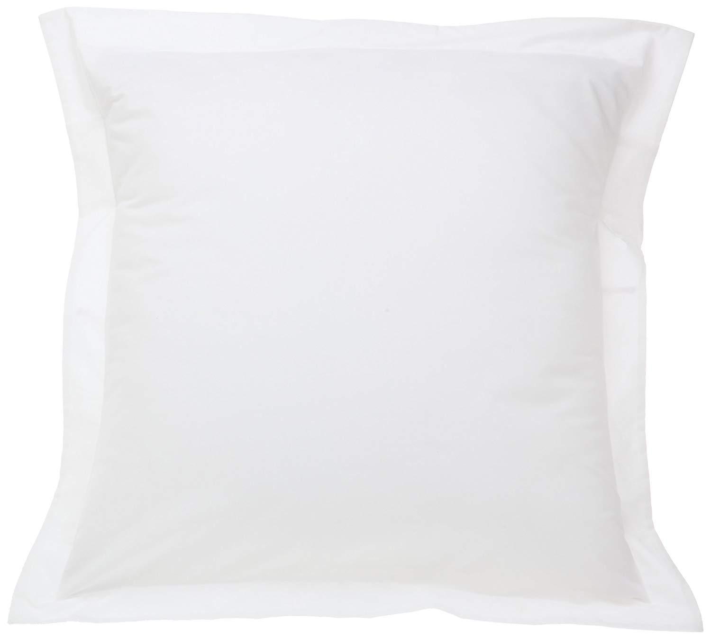 beddingstar Euro Pillow Shams 24x24 White Solid European Square Pillows Shams Set Of 2 Pc Pillowcase Euro 24x24 Pillow Cover 550 Thread Count With 100% Egyptian Cotton 2 Pack, Euro 24 x 24 by beddingstar