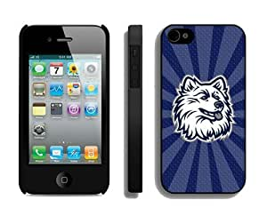 Cheap Iphone 4s Cover Ncaa Connecticut Huskies 02 Personalized Athletic Iphone 4 Cellphone Proective Case