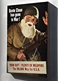 Canvas 24x36; Santa Claus Has Gone To War Propaganda Ww2 1942
