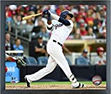 """Franchy Cordero San Diego Padres MLB Action Photo (Size: 12"""" x 15"""") Framed"""