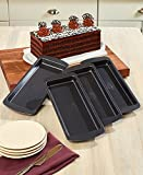 The Lakeside Collection 4-Pc. Layer Cake Pans Set