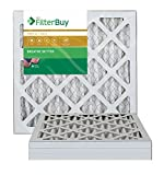 AFB Gold MERV 11 16x16x1 Pleated AC Furnace Air Filter. Pack of 4...