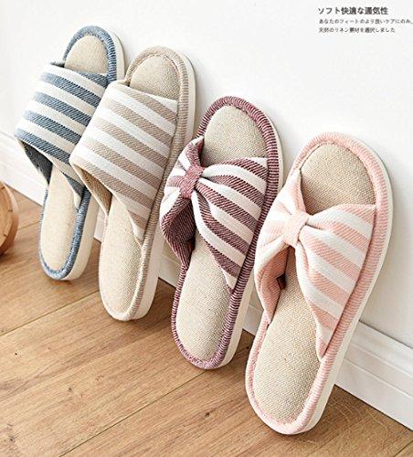Cattior Heren Comfortabele Open Neus Huis Slippers Spa Slippers Blauw