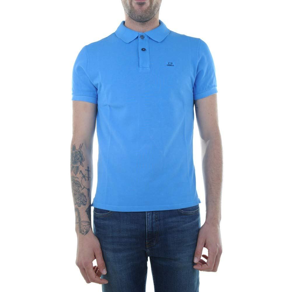 PC Hardware Store CP Company Cotton Piquet Short Sleeve Polo ...