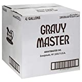 Gravy Master Seasoning and Browning Sauce 4 (1 Gallon) 4 gallons case pack
