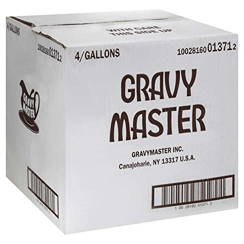 Gravy Master Seasoning and Browning Sauce 4 (1 Gallon) 4 gallons case pack by Nabisco