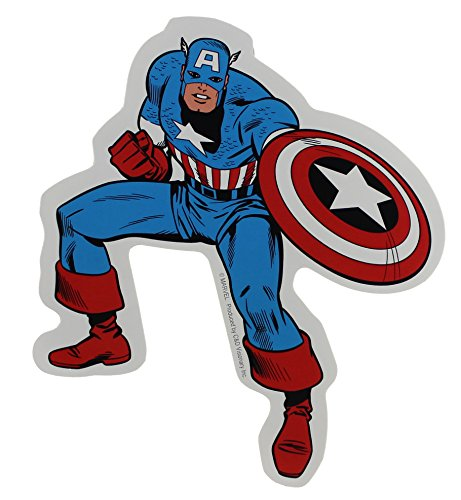 Licenses Products Marvel Comics Retro Captain America Sticker