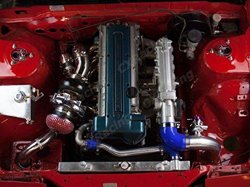 Al. Radiador + agua duro Tubo Kit para 95 - 98 240sx S14 1JZ 2jz 1jz-gte: Amazon.es: Coche y moto