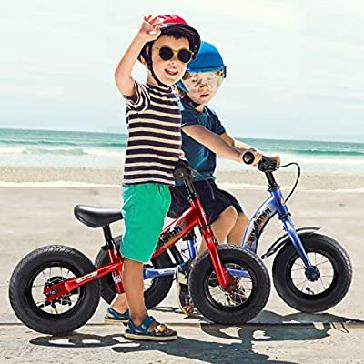 BIKESTAR Kinder Laufrad Lauflernrad Kinderrad f/ür M/ädchen ab 2-3 Jahre ★ 10 Zoll Sport Kinderlaufrad ★