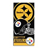 The Northwest Company NFL Pittsburgh Steelers Double Covered Beach Towel, 28 x 58-Inch
