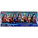 Disney's the Little Mermaid Ariel & Sisters Doll Gift Set of 7