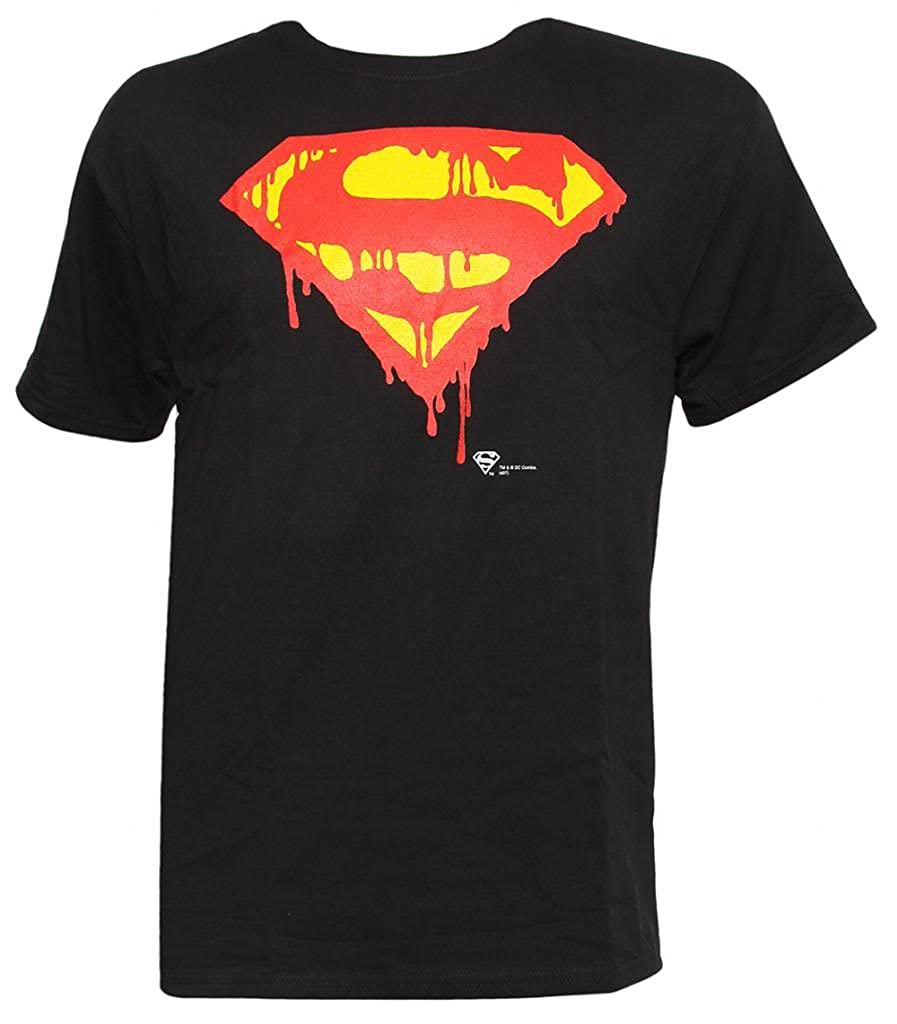 Officially Licensed Superman Shield Unisex Kids T-Shirt Ages 3-12 Years