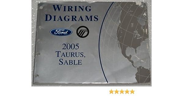 2005 ford taurus mercury sable wiring diagrams: ford motor company:  amazon com: books