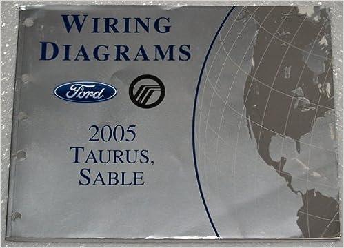 2005 Ford Taurus Mercury Sable Wiring Diagrams: Ford Motor ...  Ford Taurus Wiring Diagram on