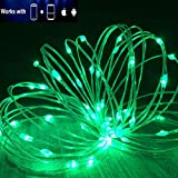 LED String Lights WiFi Smart Decorative Lights Work with Echo Alexa Google Assistant|Remote APP ControlTimer|Million Colors|Flexible Copper Wire for Christmas Decor|USB Powered|80 LED 26.3FT(SSL)
