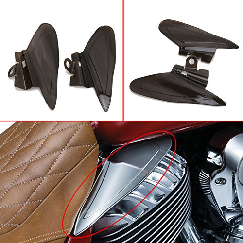 Jade Smoke Reflective Saddle Heat Shields For Indian Roadmaster, Chief 2014-2017 Jade Onlines