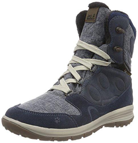 Jack Wolfskin Damen Vancouver Texapore Alto W Trekking- & Wanderstiefel Blau (blu Notte 1010)