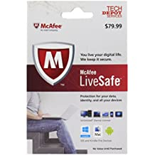 McAfee LiveSafe (1 Year Subscription, Unlimited Devices)