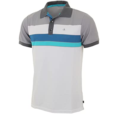 Calvin Klein 2015 bloque de Golf para hombre CK Graphic Polo de ...