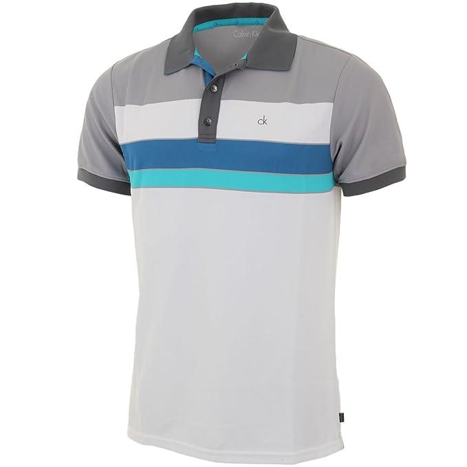 Calvin Klein 2015 bloque de Golf para hombre CK Graphic Polo de ...
