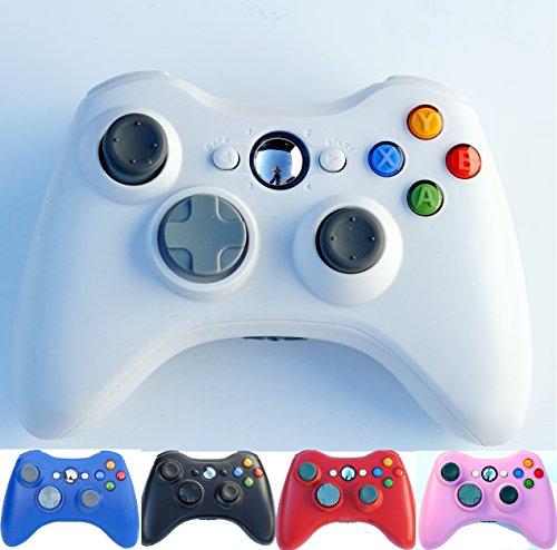 Wireless Game Remote Controller for Xbox 360 +Receiver White - 3