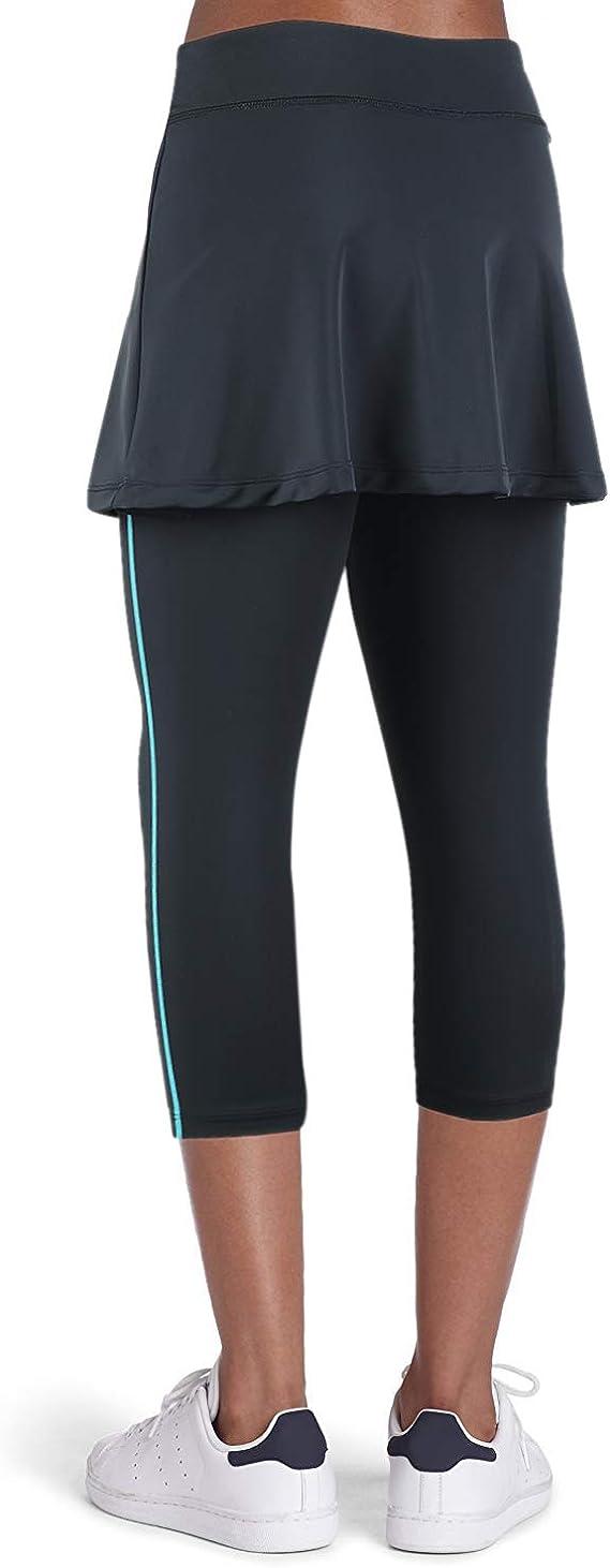 ANIVIVO Tennis Skirted Leggings Women with Pockets Capris Skorts Leggings with Skirts& Women Tennis Clothing