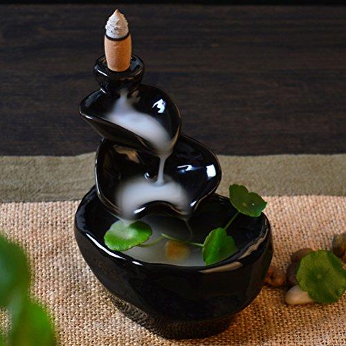 PIXNOR Ceramic Incense Burner Backflow