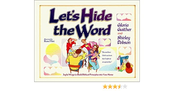 LETS HIDE THE WORD By Shirley Dobson 1994 11 16 Amazon Books