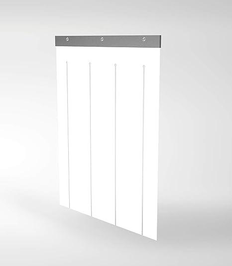 TRDC Entrada de PVC Blando para casetas para Perros (50x40 cm)