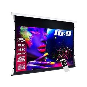 eSmart Germany 37083697 - Pantalla para proyector (265 x 150 cm) [Importado]