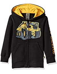 Little Boys' Fleece Hoody Zip Front