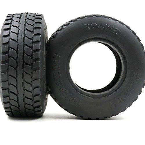 hobbysoul 5pcs RC 2.2 Dune T//A Tires OD 113mm Fit RC Crawler 2.2 Beadlock wheels rims