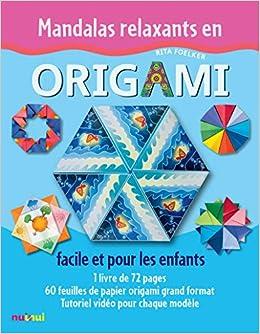 Coffret Mandalas Relaxants En Origami Facile Et Pour Les