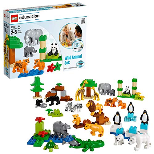 Wild Animals Set for Understanding Animal Habitats by LEGO Education DUPLO -