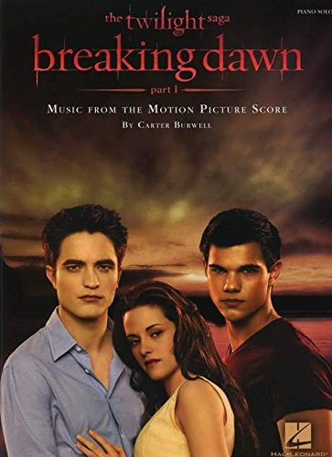 Twilight - Breaking Dawn, Part 1: Music from the Motion Picture Score (Piano Solo Songbook)