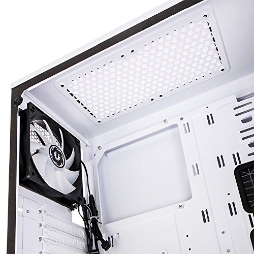 BitFenix Enso White, ATX Case Tempered Glass, Alchemy 3 0 Addressable Asus  AURA SYNC RGB with Controller BFC-ENS-150-WWWGK-RP